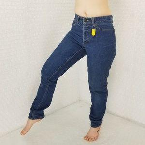 Fiorucci Vintage 1990s high waist taper leg jeans